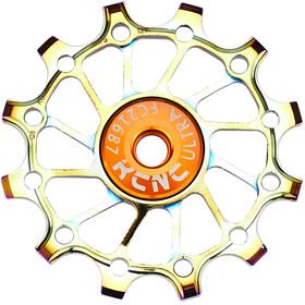 KCNC Jockey Wheel 12T Narrow Wide SS Bearing Long Teeth oil slick